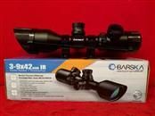 "Barksa AC11668 3-9x42mm IR Rifle Scope (Includes 1"" Rings)"